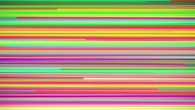 Αφηρημένος πολυ χρωματισμένος οριζόντιος βρόχος υποβάθρου λωρίδων διανυσματική απεικόνιση