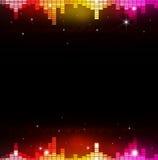 Αφηρημένος πολύχρωμος εξισωτής μουσικής Στοκ φωτογραφία με δικαίωμα ελεύθερης χρήσης