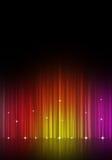 Αφηρημένος πολύχρωμος εξισωτής μουσικής Στοκ Εικόνες