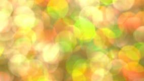 Αφηρημένος πολύχρωμος ηλιόλουστος ακτινοβολεί τα φω'τα και τα σπινθηρίσματα απόθεμα βίντεο