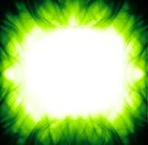 αφηρημένος πράσινος δονού& Στοκ εικόνες με δικαίωμα ελεύθερης χρήσης