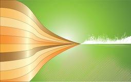 αφηρημένος πράσινος κατα&sigm διανυσματική απεικόνιση