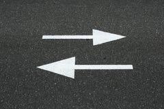 αφηρημένος δρόμος σημαδιών ανασκόπησης Στοκ φωτογραφία με δικαίωμα ελεύθερης χρήσης