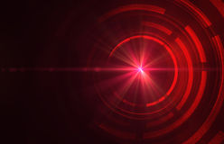 αφηρημένος σκούρο κόκκινο τεχνικός ανασκόπησης ελεύθερη απεικόνιση δικαιώματος