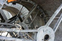 Αφηρημένος στενός επάνω σιδήρου κατασκευής μετάλλων Στοκ Εικόνες