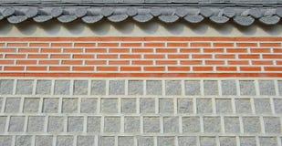 αφηρημένος τοίχος σύστασης ναών στεγών ανασκόπησης Στοκ Εικόνα