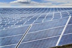 Αφηρημένος τομέας ηλιακών πλαισίων Στοκ φωτογραφία με δικαίωμα ελεύθερης χρήσης