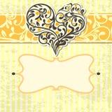 αφηρημένος τρύγος καρδιών &k διανυσματική απεικόνιση