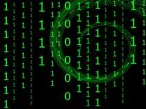 αφηρημένος υπολογιστής &a Στοκ εικόνα με δικαίωμα ελεύθερης χρήσης