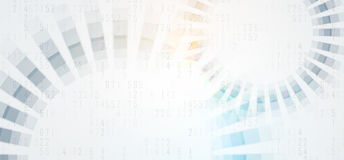 Αφηρημένος φουτουριστικός εξασθενίζει το επιχειρησιακό υπόβαθρο τεχνολογίας υπολογιστών ελεύθερη απεικόνιση δικαιώματος