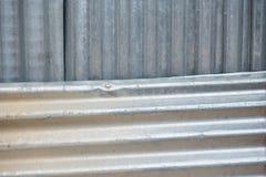 Αφηρημένος φράκτης σκουριάς ψευδάργυρου υπαίθρια Ταϊλάνδη Στοκ εικόνα με δικαίωμα ελεύθερης χρήσης