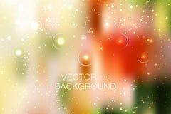 Αφηρημένος φωτεινός ακτινοβολεί υπόβαθρο με τα μικρά αστέρια Στοκ φωτογραφία με δικαίωμα ελεύθερης χρήσης