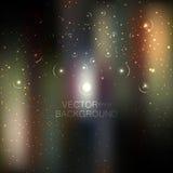 Αφηρημένος φωτεινός ακτινοβολεί υπόβαθρο Στοκ Εικόνα