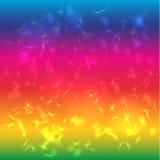 Αφηρημένος φωτεινός υποβάθρου που διαποτίζεται Ουράνιο τόξο glare Στοκ εικόνες με δικαίωμα ελεύθερης χρήσης