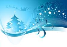 αφηρημένος χειμώνας Χριστ&om Στοκ Φωτογραφίες