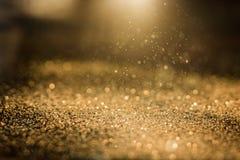 Αφηρημένος χρυσός ακτινοβολεί Στοκ εικόνα με δικαίωμα ελεύθερης χρήσης