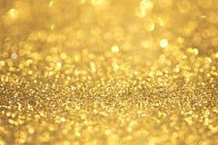 Αφηρημένος χρυσός ακτινοβολεί Στοκ φωτογραφία με δικαίωμα ελεύθερης χρήσης