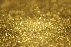 Αφηρημένος χρυσός ακτινοβολεί Στοκ Εικόνα