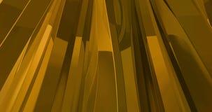 Αφηρημένος χρυσός μεταλλικός χρυσός κυματισμός μορφής υφάσματος γεωμετρικός αργός απεικόνιση αποθεμάτων