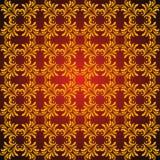 αφηρημένος χρυσός προσανατολίζει το πρότυπο άνευ ραφής απεικόνιση αποθεμάτων