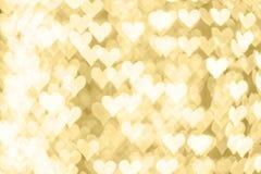 Αφηρημένος χρυσός τρύγος bokeh backround καλής χρονιάς ή του Chris Στοκ Φωτογραφία