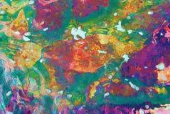 Αφηρημένος ψηφιακός ζωηρόχρωμος Στοκ φωτογραφία με δικαίωμα ελεύθερης χρήσης