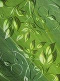 αφηρημένος floral πράσινος ανα&sigma Στοκ φωτογραφίες με δικαίωμα ελεύθερης χρήσης