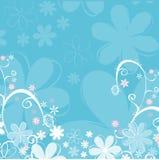 αφηρημένος floral διανυσματική απεικόνιση