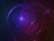 Αφηρημένος fractal σκοτεινός, υπερφυσικός δημιουργικός δυναμικός ομορφιάς υποβάθρου φανταστικός, περίπλοκος διαφανής μοναδικός δο ελεύθερη απεικόνιση δικαιώματος