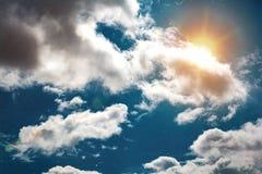 αφηρημένος fractal χειμώνας ουρανού εικόνας Στοκ Εικόνες