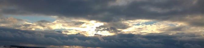 αφηρημένος fractal χειμώνας ουρανού εικόνας Στοκ φωτογραφία με δικαίωμα ελεύθερης χρήσης