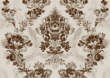 12 αφηρημένος hand-drawn floral άνευ ραφής τρύγος σχεδίων Στοκ Φωτογραφία