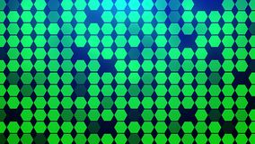 Αφηρημένος Hexagon γεωμετρικός βρόχος επιφάνειας διανυσματική απεικόνιση