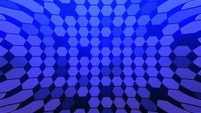 Αφηρημένος Hexagon γεωμετρικός βρόχος επιφάνειας απεικόνιση αποθεμάτων