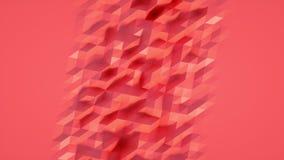 Αφηρημένος Polygonal γεωμετρικός βρόχος επιφάνειας διανυσματική απεικόνιση