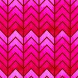 Αφηρημένο άνευ ραφής γεωμετρικό σιρίτι watercolor Στοκ φωτογραφία με δικαίωμα ελεύθερης χρήσης