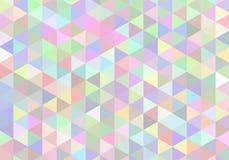 Αφηρημένο άνευ ραφής ελαφρύ σχέδιο μωσαϊκών πρότυπο rhombuses άνευ ραφής Στοκ Φωτογραφία