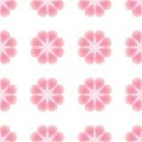 αφηρημένο άνευ ραφής διάνυσμα προτύπων απεικόνισης λουλουδιών Στοκ Φωτογραφία