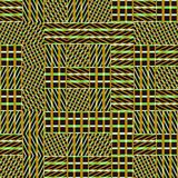 Αφηρημένο άνευ ραφής διανυσματικό σχέδιο της διατομής του διαγώνιου orname Στοκ φωτογραφία με δικαίωμα ελεύθερης χρήσης