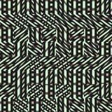 Αφηρημένο άνευ ραφής διανυσματικό σχέδιο της διατομής του διαγώνιου orname Στοκ Εικόνες