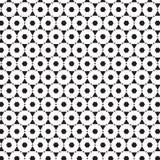 Αφηρημένο άνευ ραφής μαύρο & άσπρο σχέδιο διακοσμήσεων γραμμών της γεωμετρικής διανυσματικής απεικόνισης υποβάθρου σχεδίου αντικε Στοκ Εικόνες