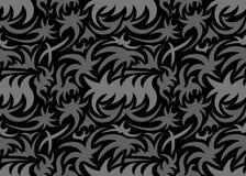 Αφηρημένο άνευ ραφής οργανικό σχέδιο επίσης corel σύρετε το διάνυσμα απεικόνισης Στοκ Φωτογραφία