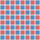 Αφηρημένο άνευ ραφής πρότυπο με τα τετράγωνα Γεωμετρικό διάνυσμα illustr Στοκ εικόνα με δικαίωμα ελεύθερης χρήσης