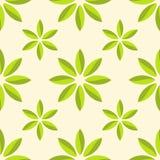 Αφηρημένο άνευ ραφής πρότυπο λουλουδιών Στοκ Εικόνα