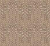 Αφηρημένο άνευ ραφής σχέδιο στο υπόβαθρο μαυρίσματος Έχει τη μορφή ενός κύματος Αποτελείται από τις στρογγυλές γεωμετρικές μορφές Ελεύθερη απεικόνιση δικαιώματος