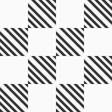 Αφηρημένο άνευ ραφής σχέδιο των ριγωτών τετραγώνων Σύγχρονη μοντέρνη γεωμετρική σύσταση ελεύθερη απεικόνιση δικαιώματος