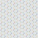 Αφηρημένο άνευ ραφής σχέδιο sashiko ιαπωνικό μοτίβο Στοκ Φωτογραφίες