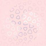 Αφηρημένο άνευ ραφής σχέδιο για τα κορίτσια Σύγχρονη καθιερώνουσα τη μόδα ταπετσαρία Στοκ Φωτογραφία
