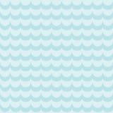 Αφηρημένο άνευ ραφής σχέδιο με τα κύματα Διανυσματική απεικόνιση