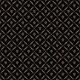 Αφηρημένο άνευ ραφής σχέδιο με τα χρυσά διαμάντια Σχέδιο υποβάθρου πολυτέλειας σύγχρονη μοντέρνη σύσταση επίσης corel σύρετε το δ απεικόνιση αποθεμάτων
